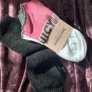 Juicy Couture Sock Set and 1 or Chenille Socks